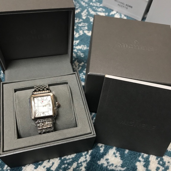*SOLD* Nwt Michele deco Madison with diamonds